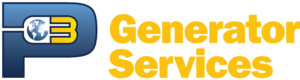 P3 Generator Services Logo Yellow