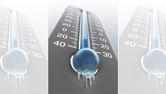 Frosty Thermometer - P3 Generator Services