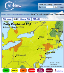 Bad Air Quality Day