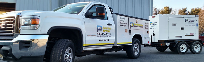 P3 Service Truck with Generator Rental
